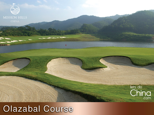 Olazabal Course at Mission Hills Shenzhen