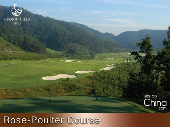 Rose-Poulter Course at Mission Hills Shenzhen