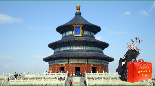 Mission Hills Shenzhen + Beijing, Xi'an & Shanghai Golf & Sightseeing Tour