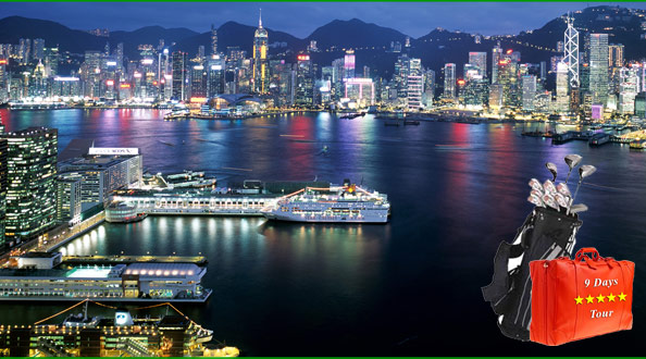 Mission Hills Shenzhen + Hong Kong & Macau Golf & Sightseeing Tour