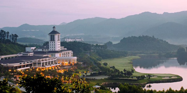 Mission Hills Golf Resort in China